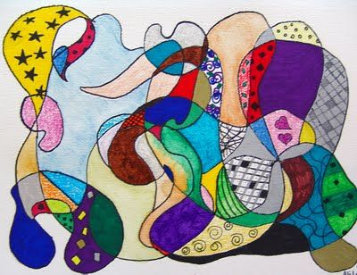 Line Drawing Artists Names : Doodle this would be great with cursive names art lesson ideas