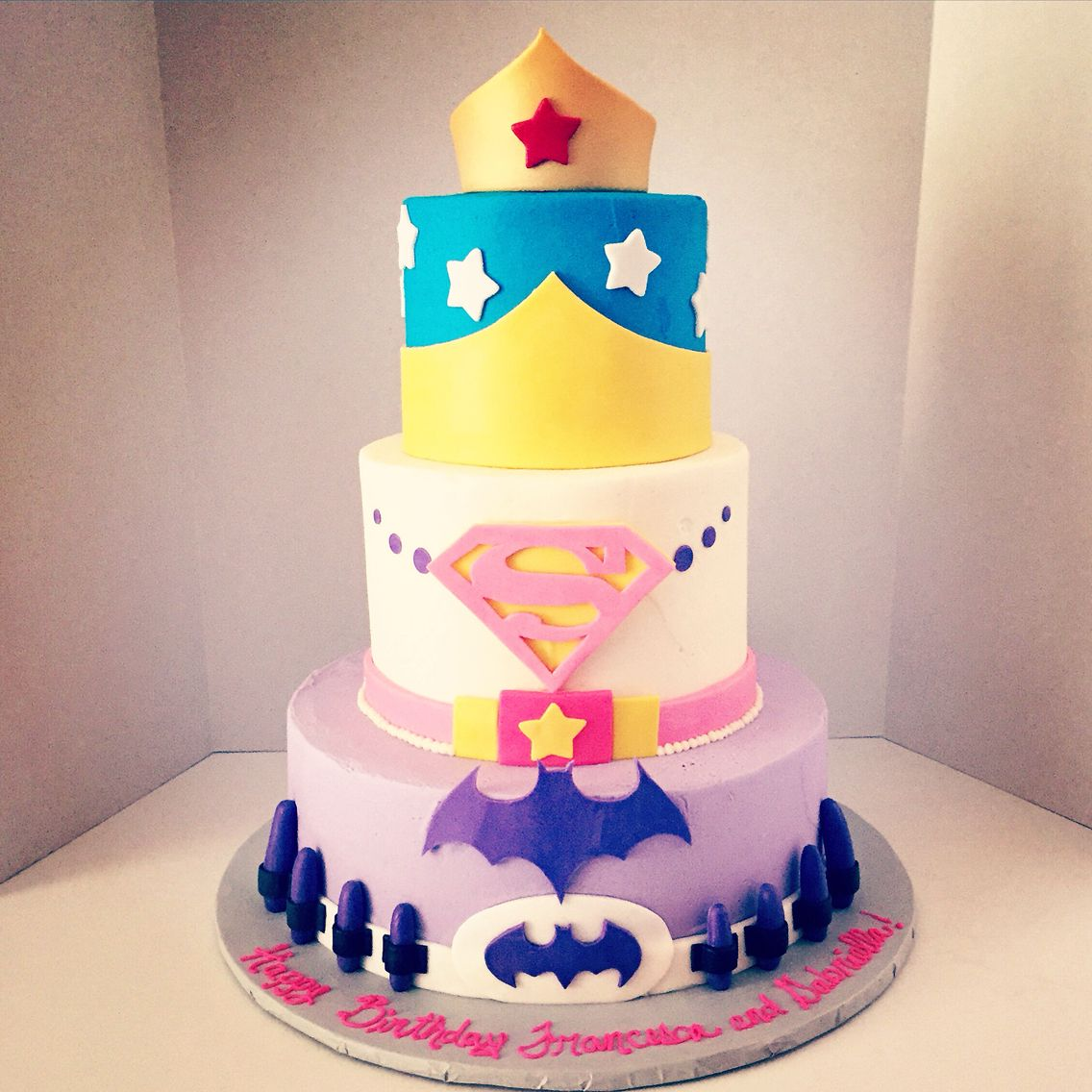 Super Hero Cake For Girls Cakes Superhero Birthday