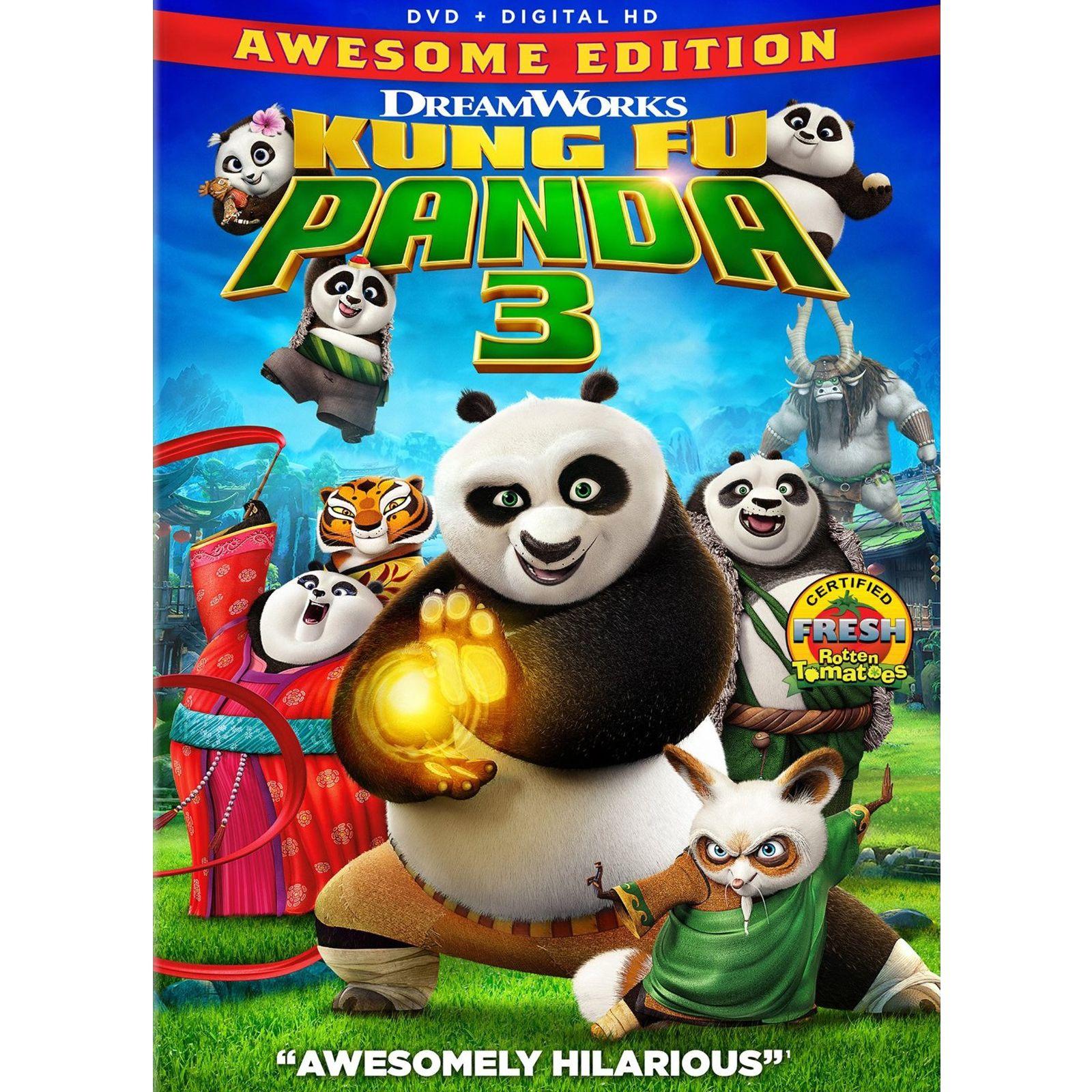 Kung Fu Panda 3 Dvd Kung Fu Panda 3 Kung Fu Panda Kung Fu
