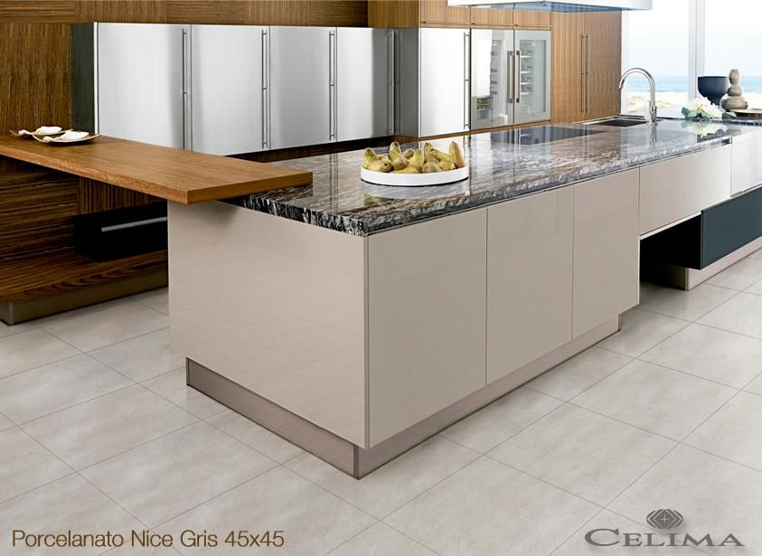 Porcelanato Contemporary Kitchen Contemporary Kitchen Design Modern Kitchen