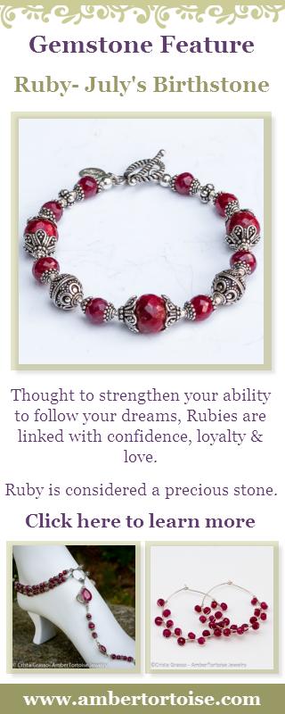 Gemstone Properties of Ruby, July's Birthstone