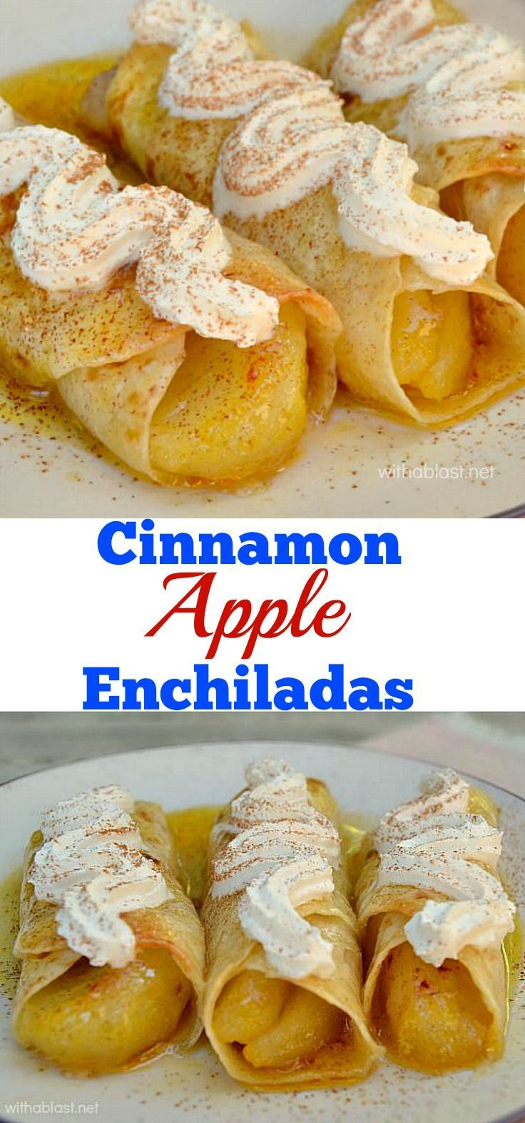 These cinnamon apple enchiladas are drenched in syrup with a these cinnamon apple enchiladas are drenched in syrup with a slightly crisp top so easy forumfinder Images