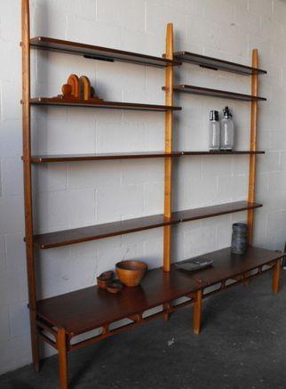 William Watting Danish Teak Mid Century Bookshelf