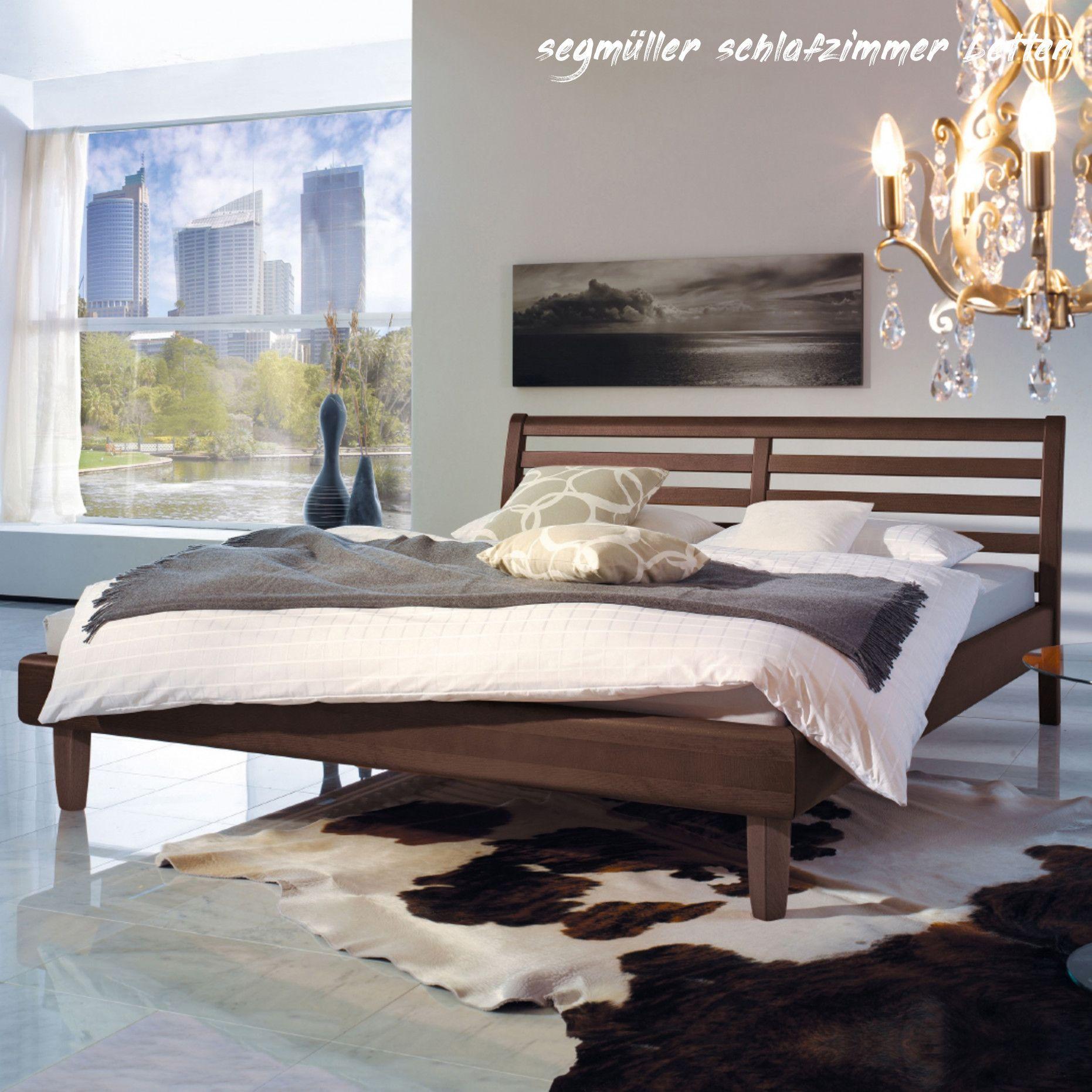 7 Segmuller Schlafzimmer Betten In 2020 Massivholzbett Dekor Bett