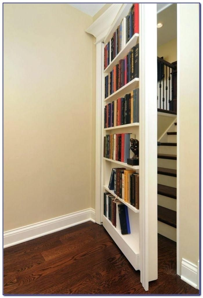 Bookcase Bookshelf Closet Doors Diy Bookcase Closet Door Kit Hidden