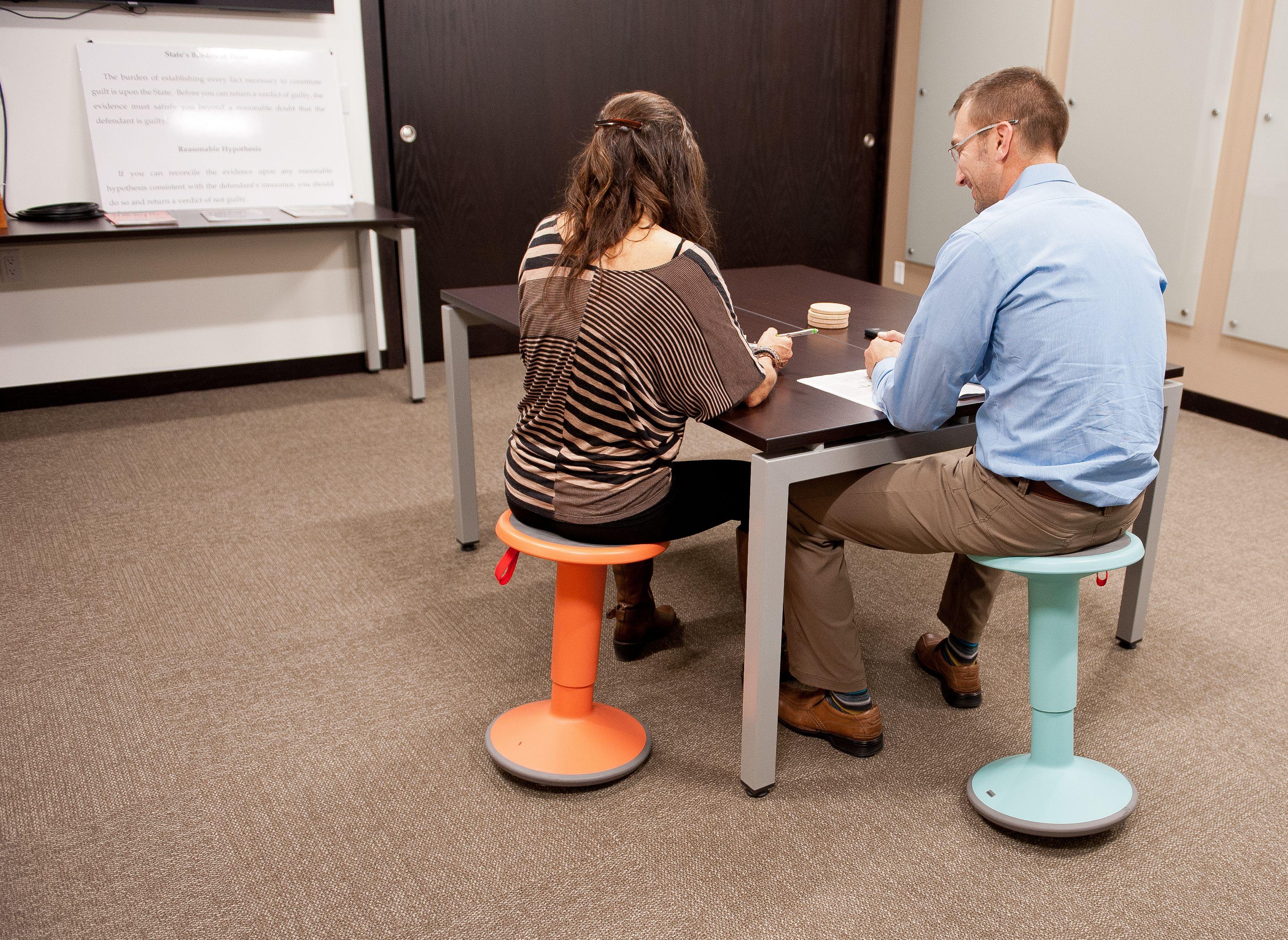 UP™ Adjustable Stool Adjustable stool, Standing work