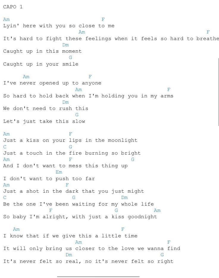Just A Kiss Lady Antebellum Guitar Chords | ukulele ❤ | Pinterest ...