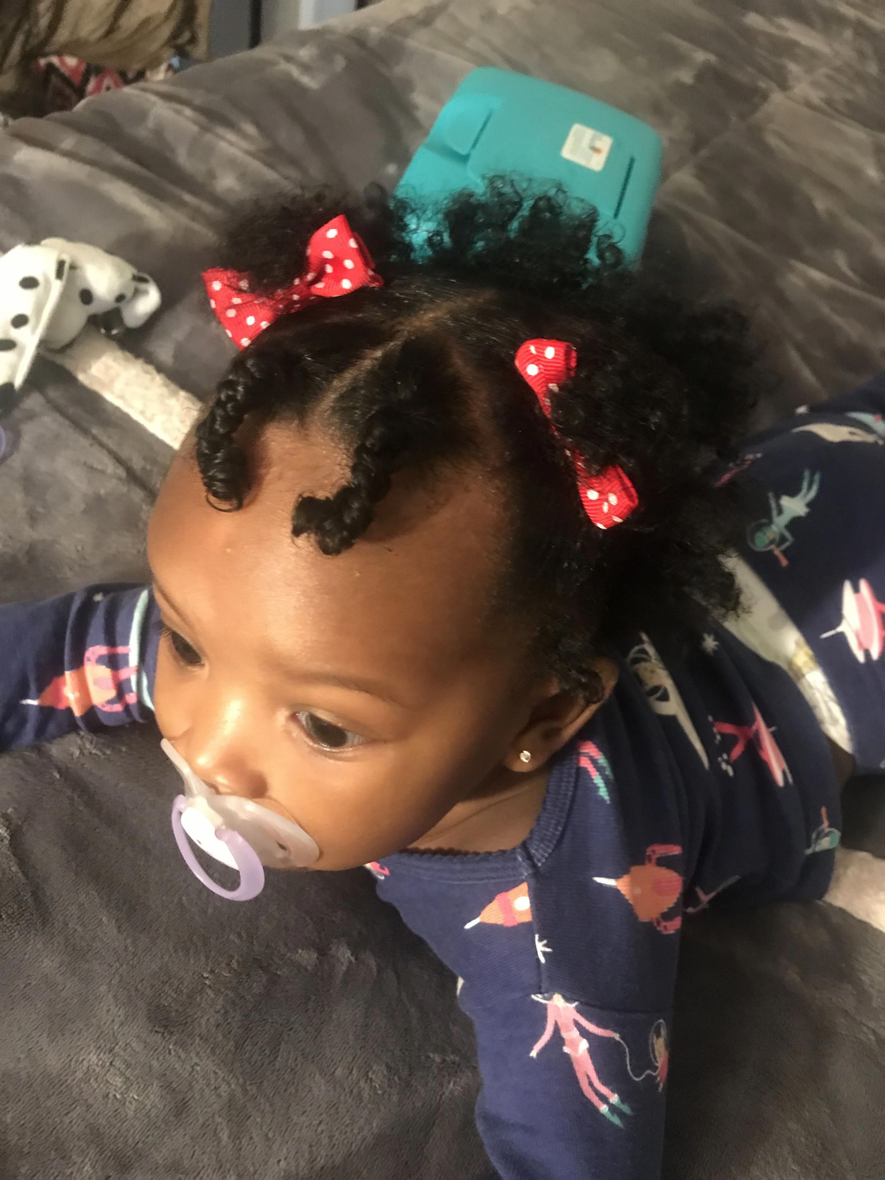 6 months hairstyles babies