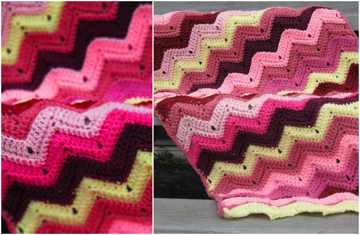 Scrap ripple crochet afghan crocheted afghans afghans and free scrap ripple crochet afghan bankloansurffo Gallery