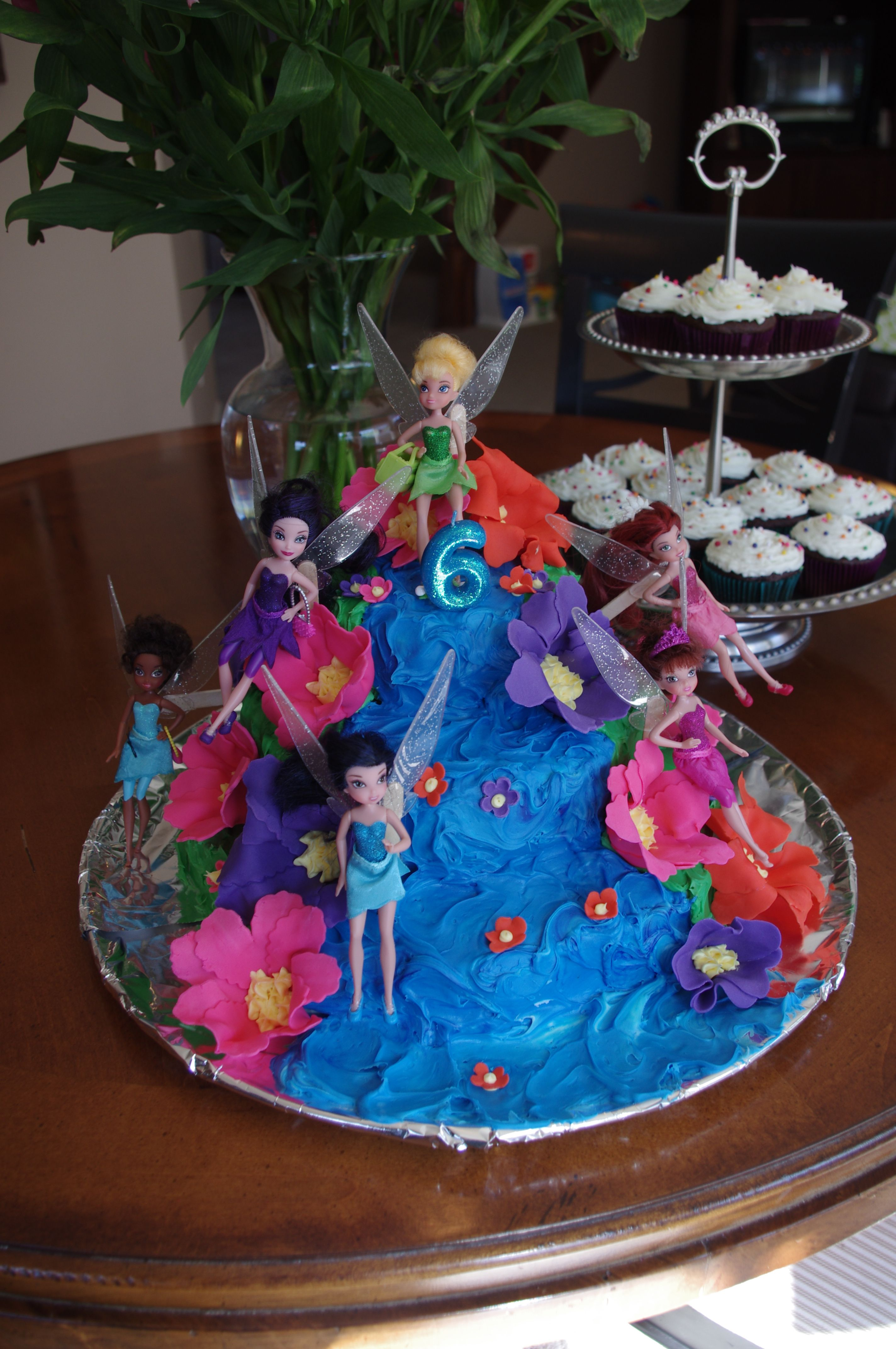Strange Tinkerbell Cake For My Baby Girls 6Th Birthday 6Th Birthday Funny Birthday Cards Online Barepcheapnameinfo