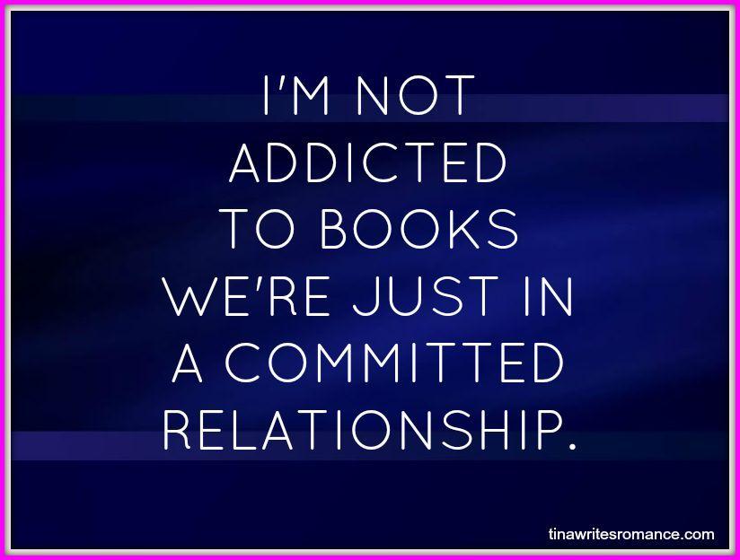 Im not addicted to books paranormal romance folsom