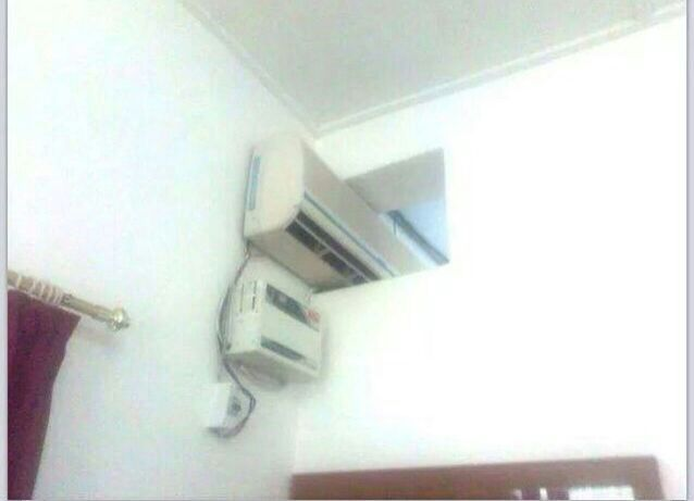 Split AC- to split air conditioning in 2 rooms