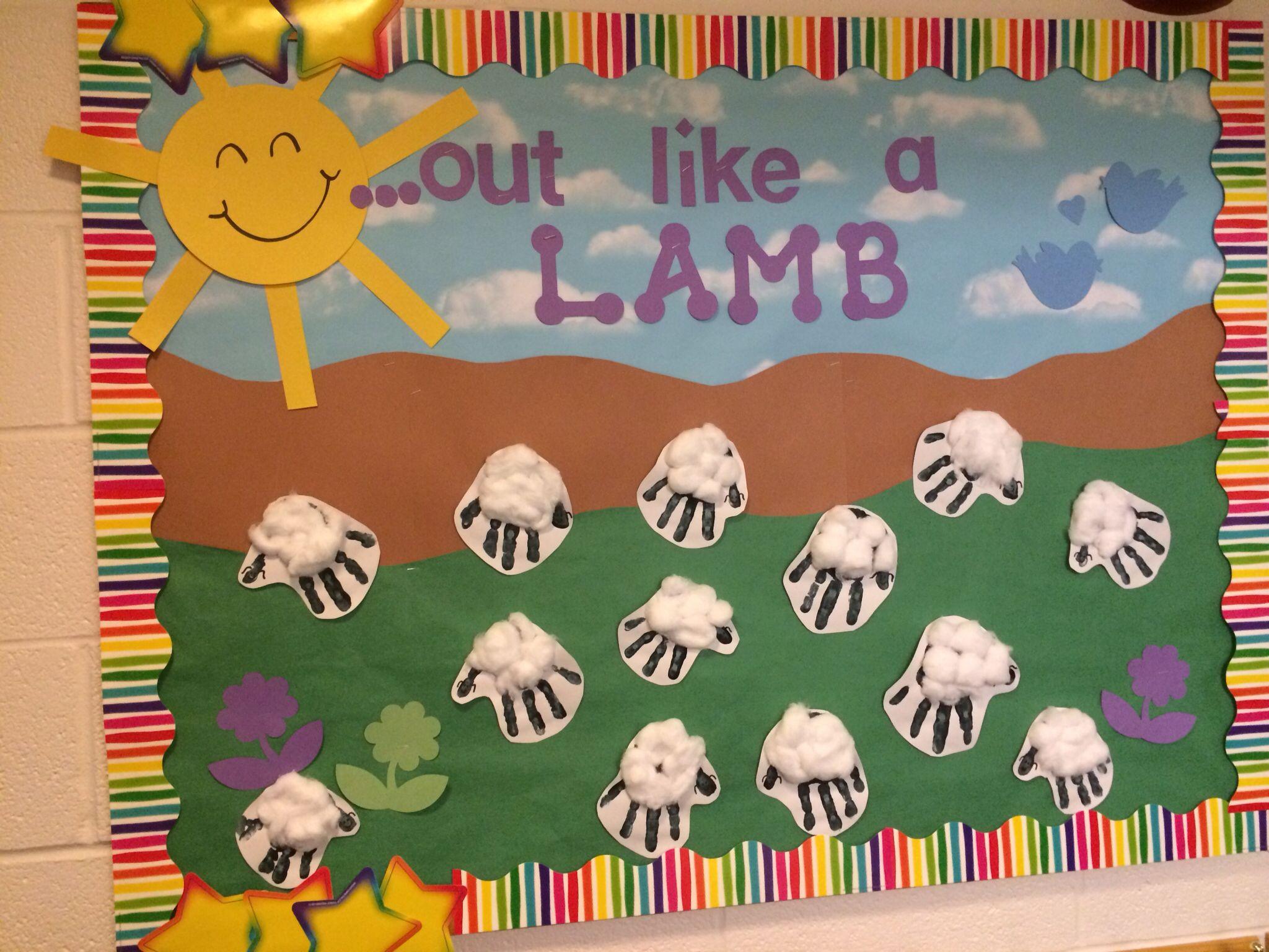Preschool March Bulletin Board