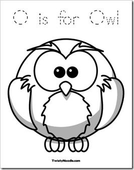 Cute Baby Owl Coloring Pages Free Kids Printable