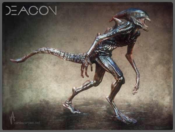Xenomorph Vs Deacon Deacon alien   ...