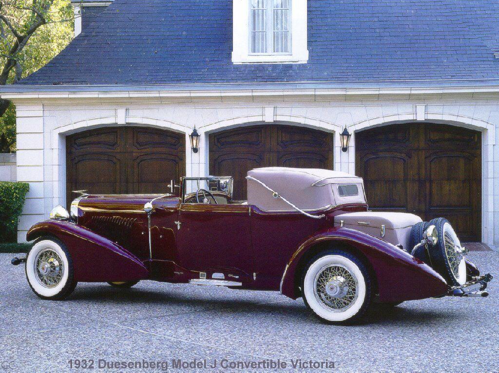 1932 Duesenberg Model J Convertible Victoria..Repin