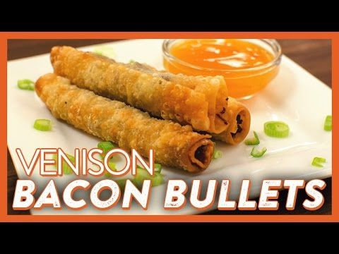 Ground Venison Bacon Bullets Legendary Whitetails Deer Recipes Ground Venison Venison