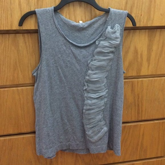 Grey tank top Slightly used in great condition J. Crew Tops Tank Tops