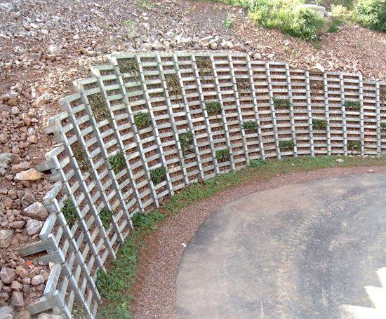 Crib Wall Planting Building A Retaining Wall Gravity Retaining Wall Retaining Wall Design