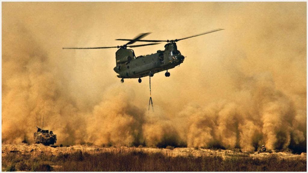Boeing Ch 47 CHinook Helicopter Wallpaper