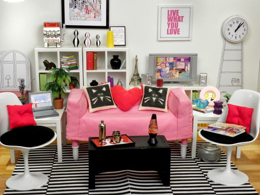 Rovilles Blog IKEA DOLL HOUSE FURNITURE 2013 My friend is