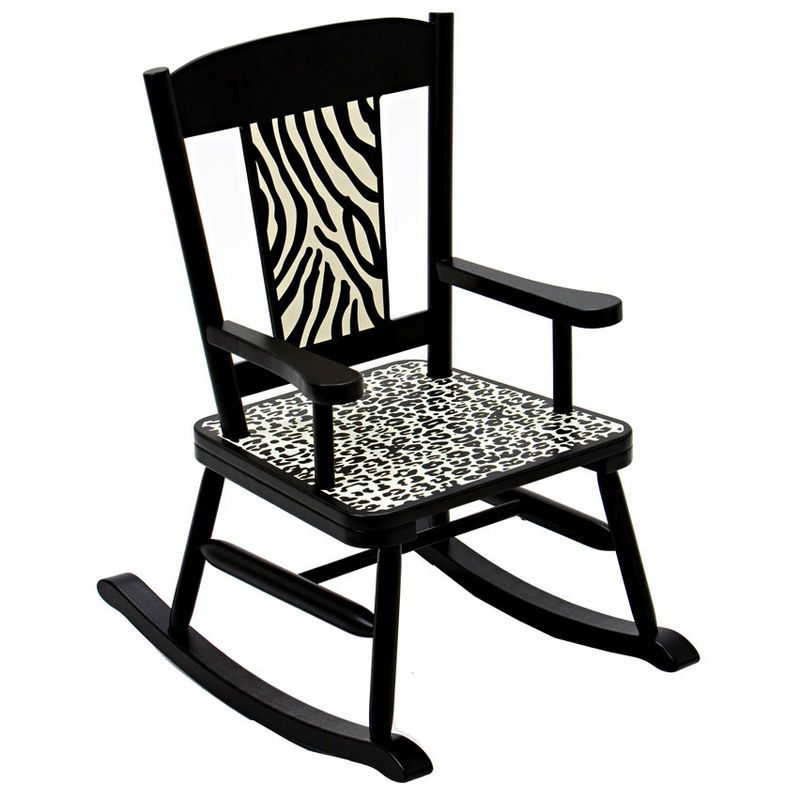 Wild Side Rocker By Levels Of Discovery Rocking Chair Kids Rocking Chair Rockers Rocking Chairs Childrens Rocking Chairs