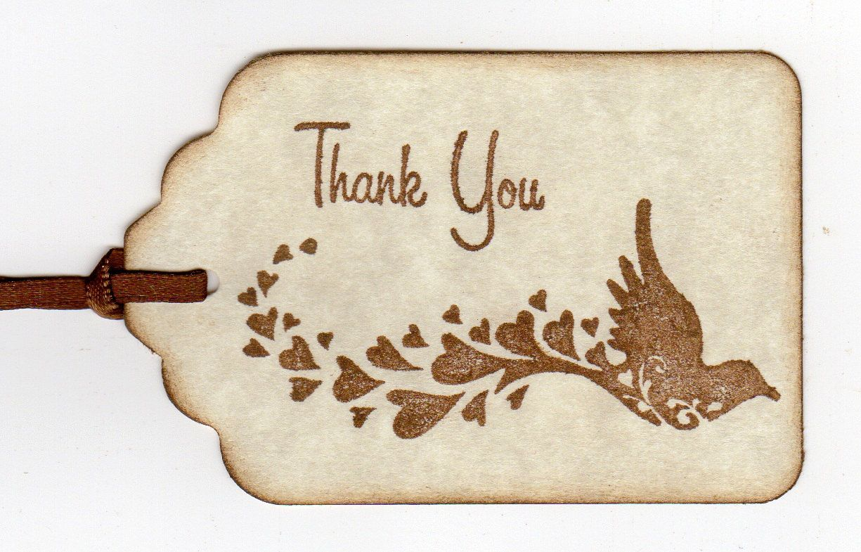 50 Vintage Wedding Favor Gift Tags / Thank You Tags / Escort Tags ...