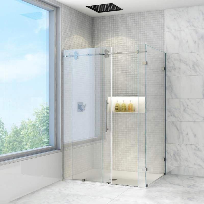 Vigo Vg605160 Frameless Shower Enclosures Shower Enclosure