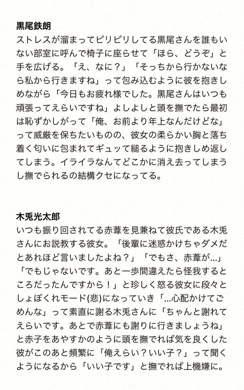 夢小説 ハイキュー