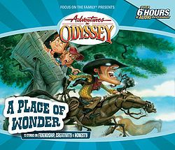 Album 15 A Place Of Wonder Adventures In Odyssey border=