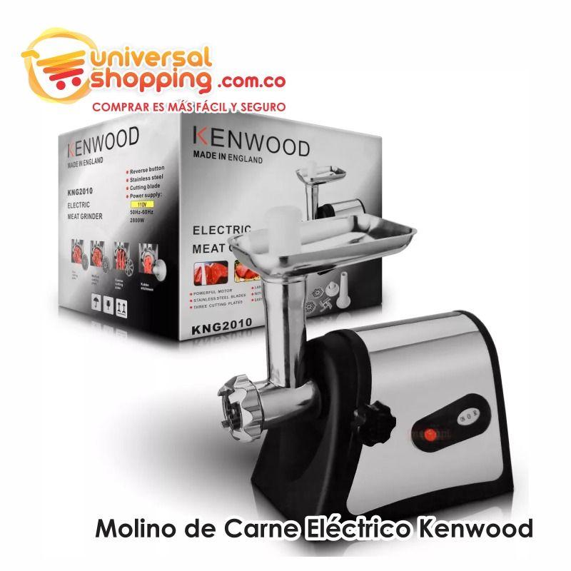 Molino De Carne Electrico Kenwood Preparar Carne Para Hamburguesas Aparatos De Cocina Carne