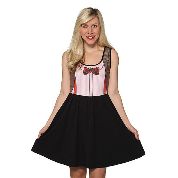 11th Doctor Costume A-line Dress | ThinkGeek Doctor Who ...