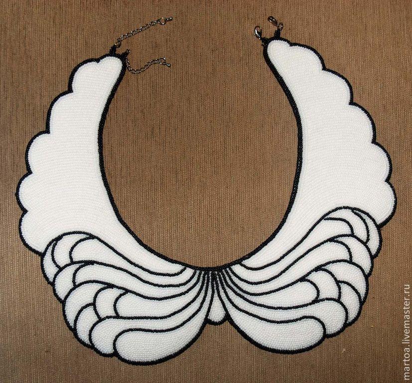 "воротник ""Крылья ангела"". Handmade."