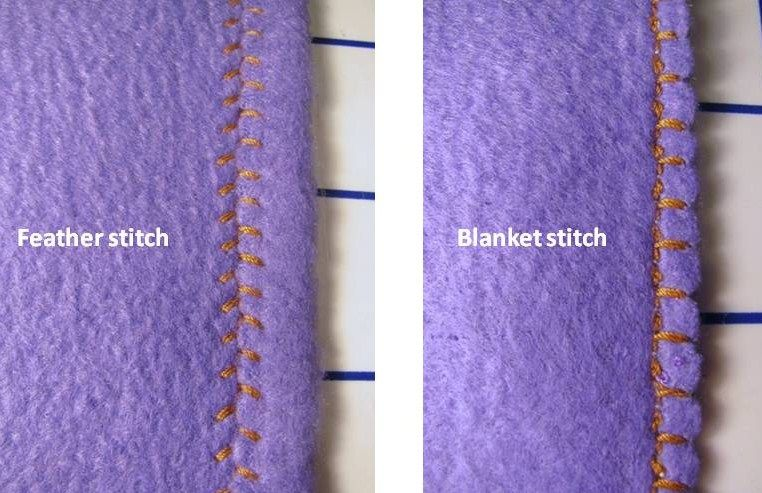 How to Sew a Fleece Blanket With 3 Edge-Finishing Options ...