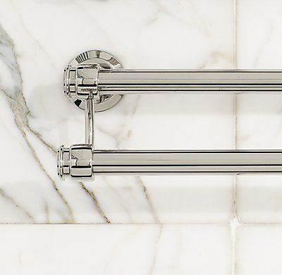 Lugarno Double Towel Bar Towel Bar Master Bath Bathroom Hardware