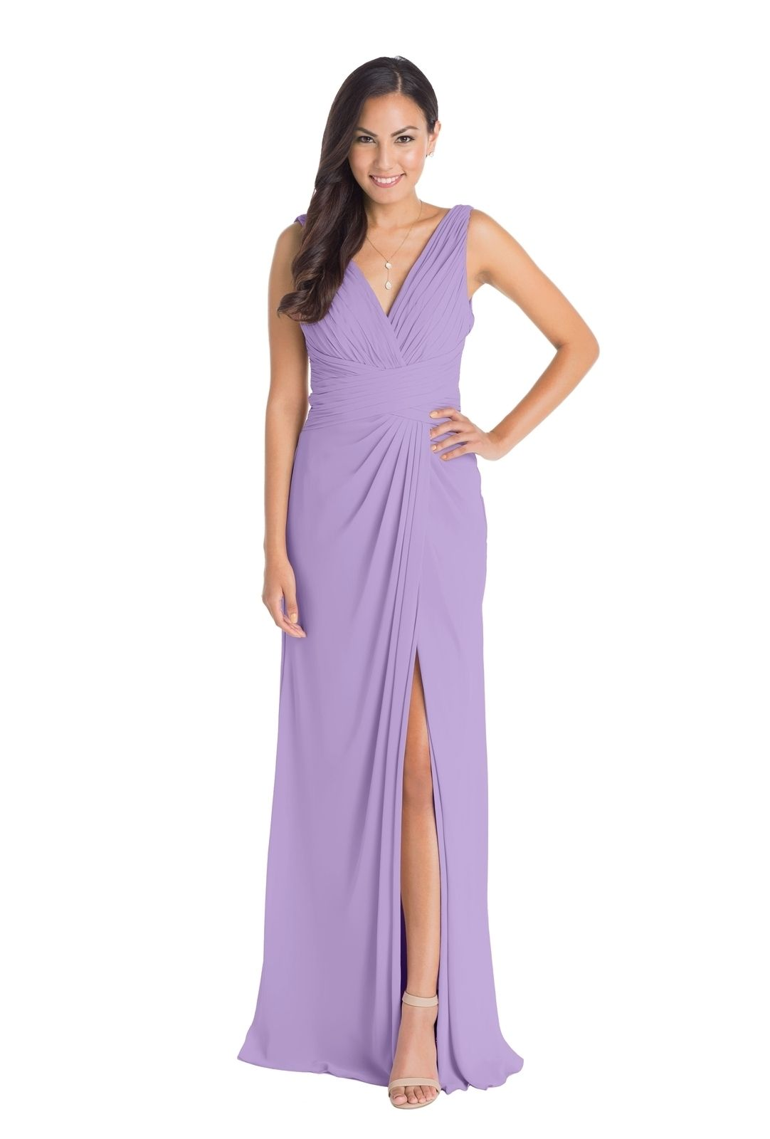Loving lavender bridesmaid dresses! Rent this @watterswtoo Maria ...