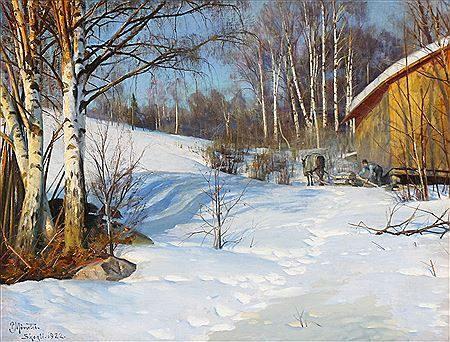 Peder Mork Monsted - Auction results - Artist auction records