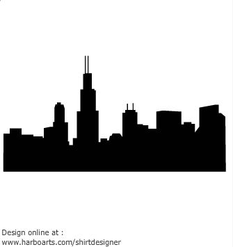 Chicago Skyline Silhouette Pay N T Chicago Skyline Chicago