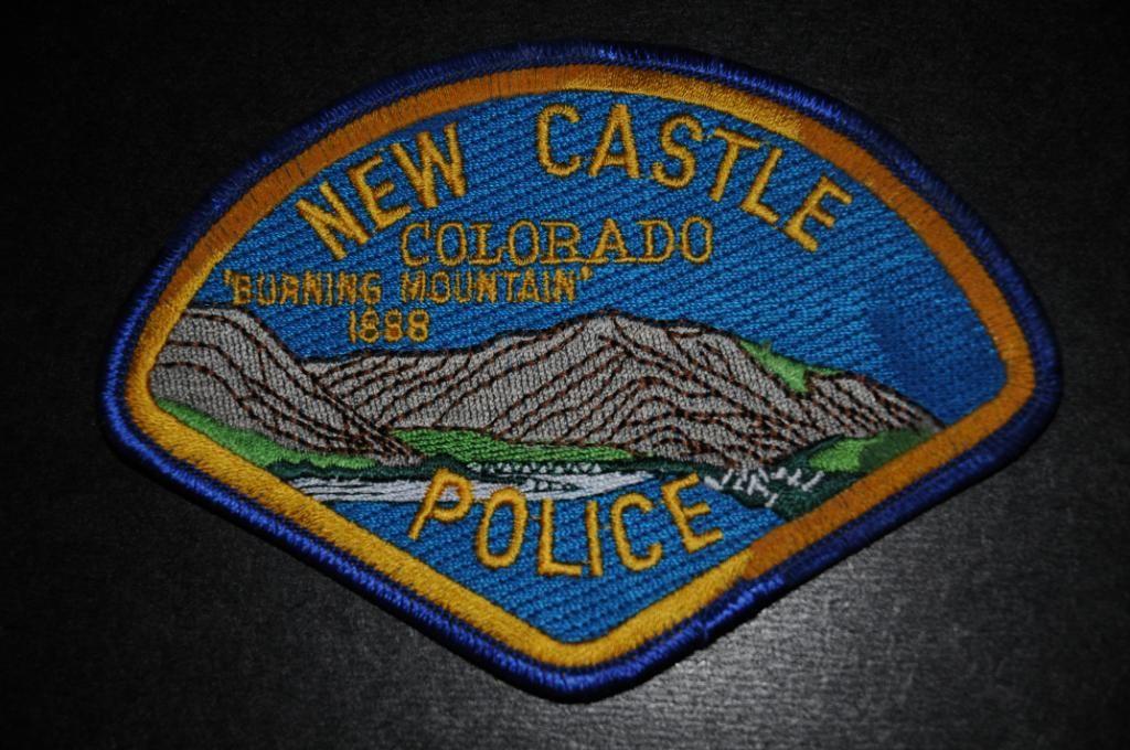 New Castle Police Patch, Garfield County, Colorado