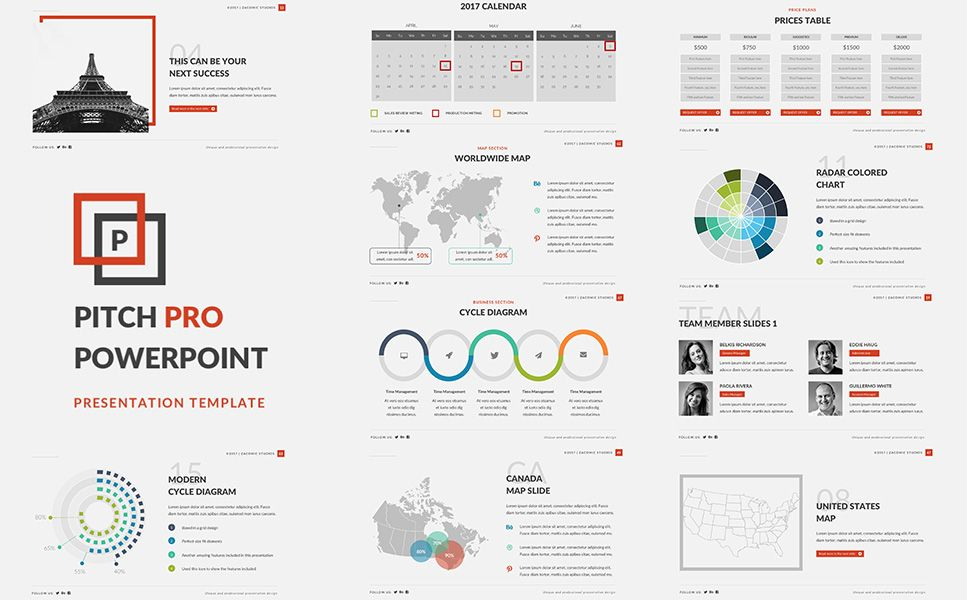 pitch pro powerpoint template powerpoint templates templates