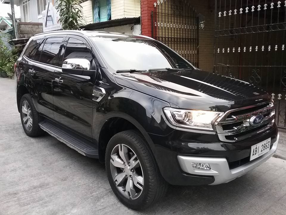 2016 Ford Everest Trend Ford endeavour, Ford ecosport