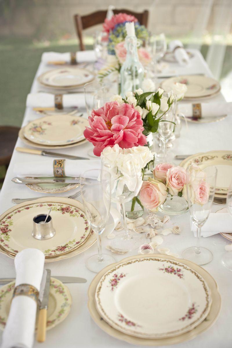 Vintage Dinner Plate Hire Perth Antiquitea Vintage High Teas