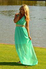 ROMAN GODDESS CHIFFON MAXI DRESS IN MINT | decadenceboutique