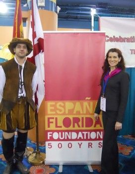 The Spain-Florida Foundation 500 Years marks their presence at the National Association for Bilingual Educators(NABE) Conference. Feb. 7 and 8.