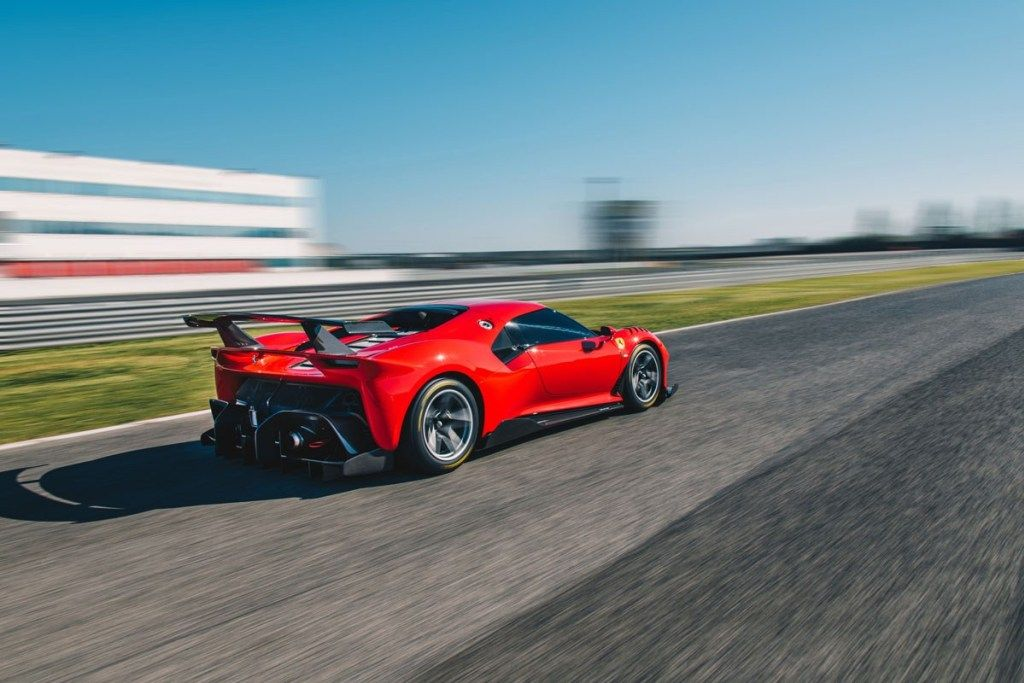 The new Ferrari P80/C is a one-off Extreme Track-Car! #newferrari