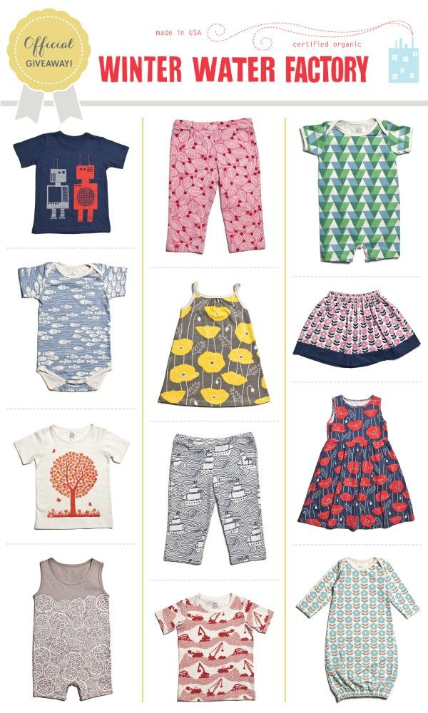 Baby clothes giveaway