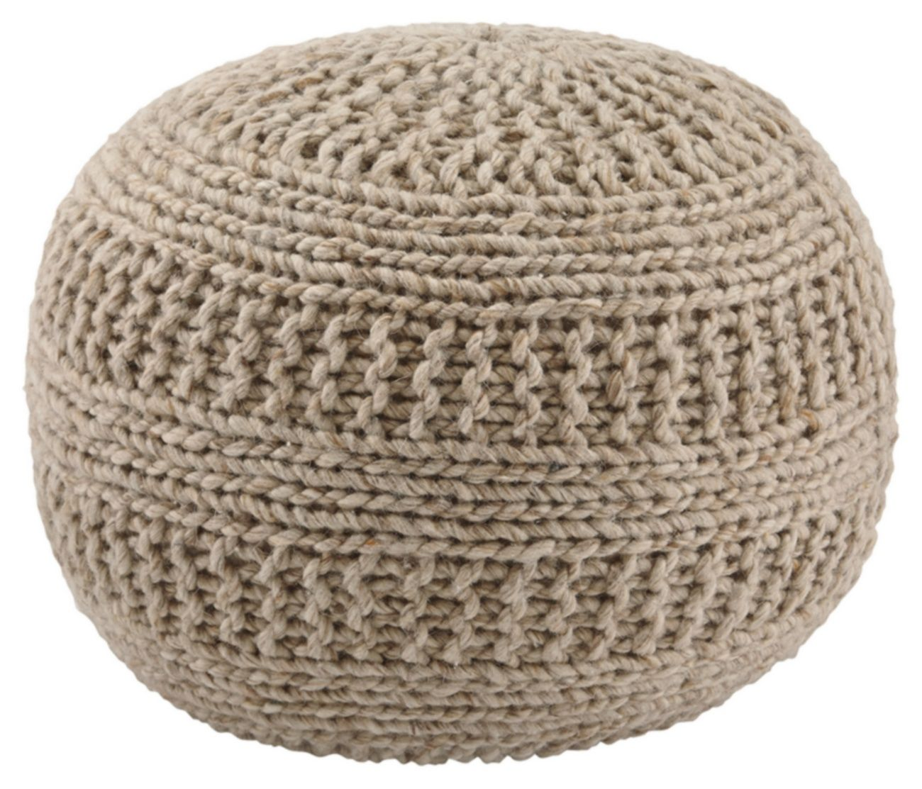 Signature Design Benedict Natural Pouf