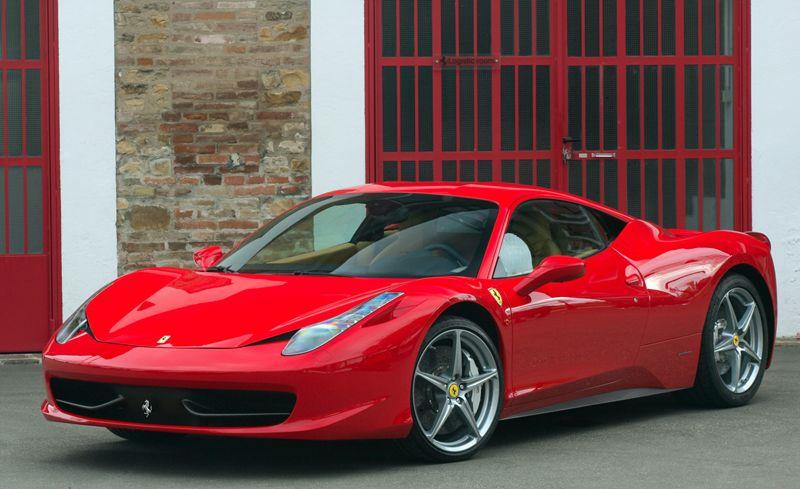 Ferrari 458 Italia: Top Speed U2013 325kmph; Power U2013 570bhp; Torque U2013 540Nm
