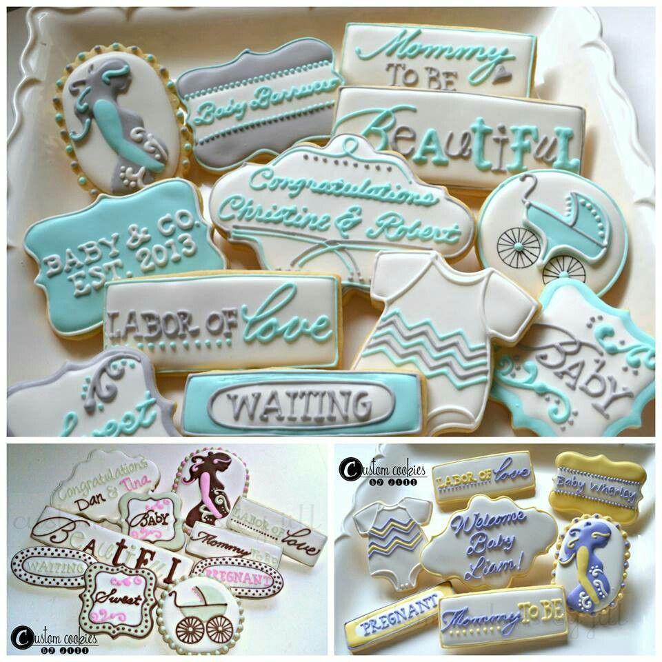 Custom cookies by jill