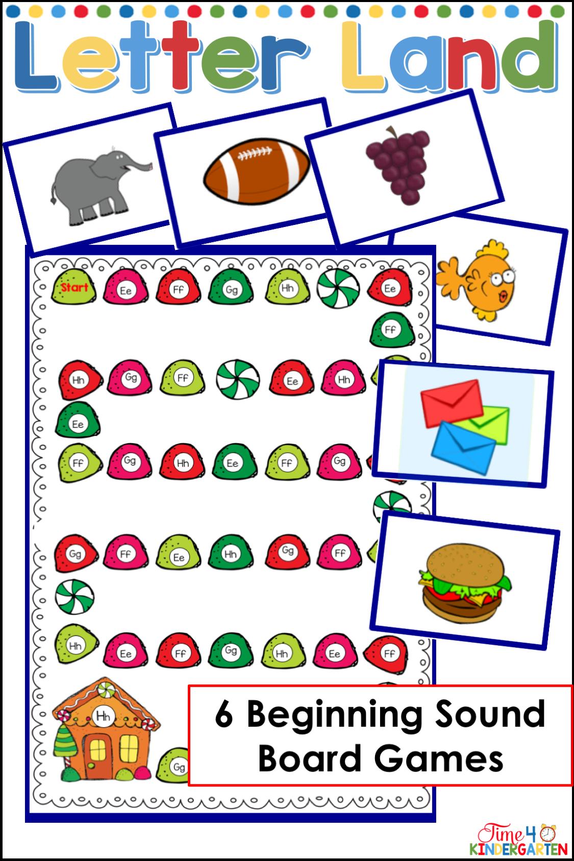Beginning Letter Sounds Literacy Activities Kindergarten Teaching Kindergarten Sight Words Kindergarten Math Games [ 1688 x 1125 Pixel ]